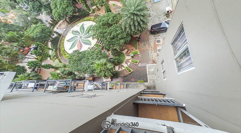 balcony Puri Park View Apartment Apartment