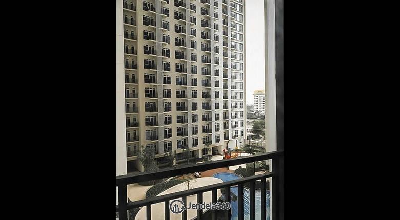 balcony Puri Park View Apartment