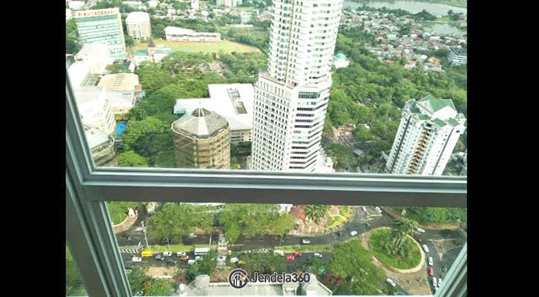 balcony U Residence Karawaci Apartment