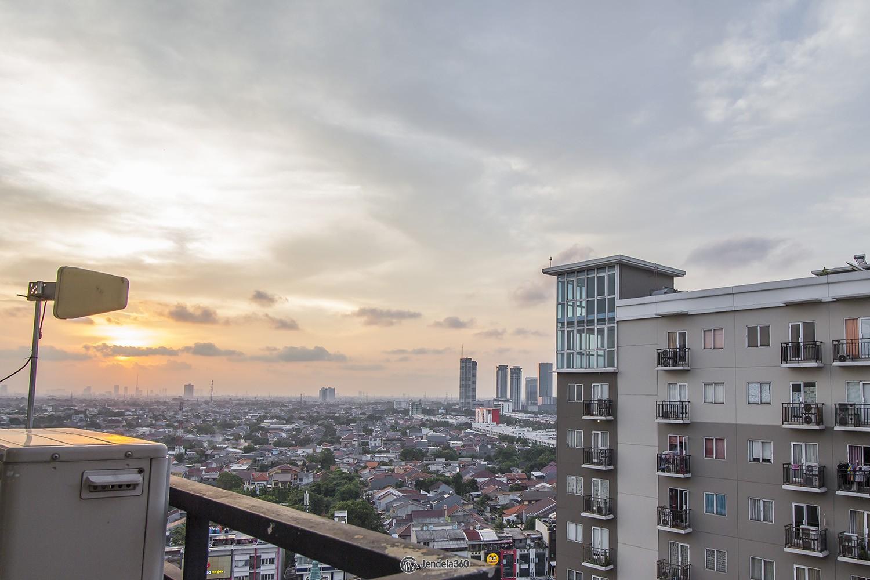 balcony Apartemen Puri Park View Apartment