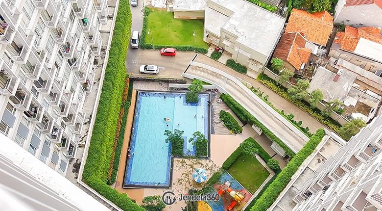 balcony Bintaro Plaza Residence
