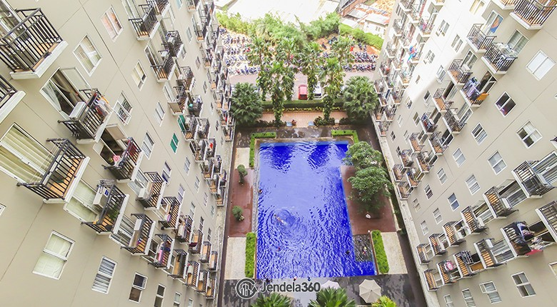 balcony Puri Park View Apartment