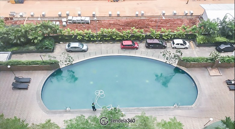 Balcony Serpong Green View Apartment Apartment