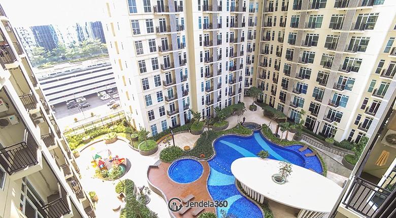 Balcony Apartemen Puri Orchard Apartment