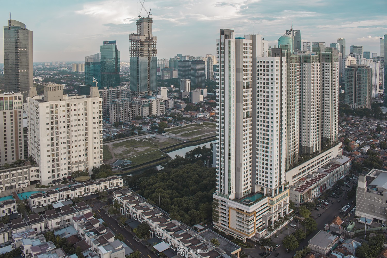 Balcony Apartemen Cosmo Terrace - Thamrin City