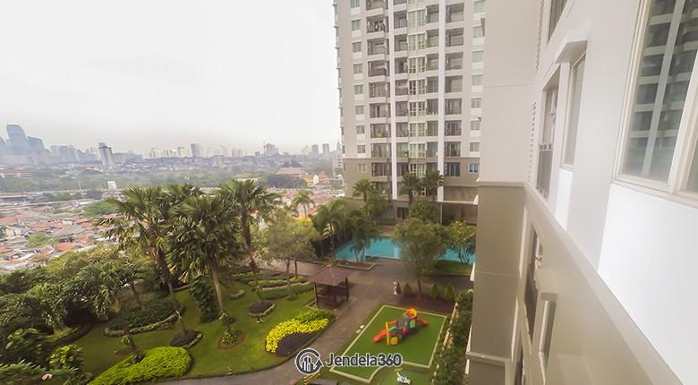 Balcony Thamrin Residence Apartment