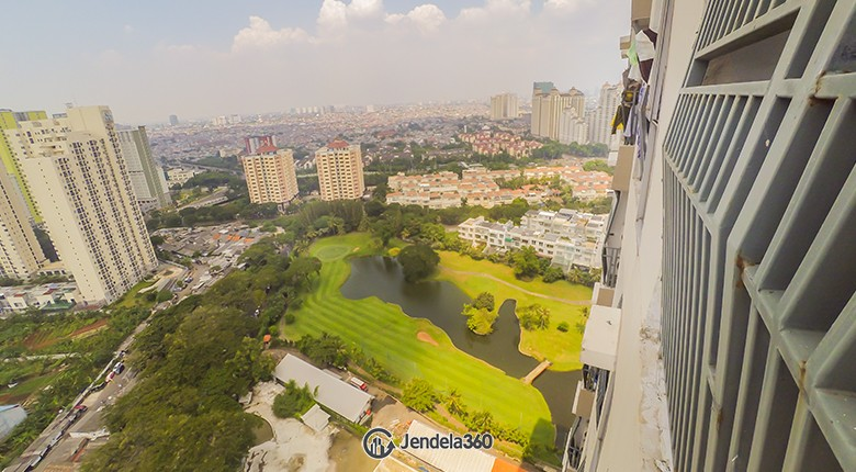 Balcony Apartemen The Mansion Kemayoran Bougenville