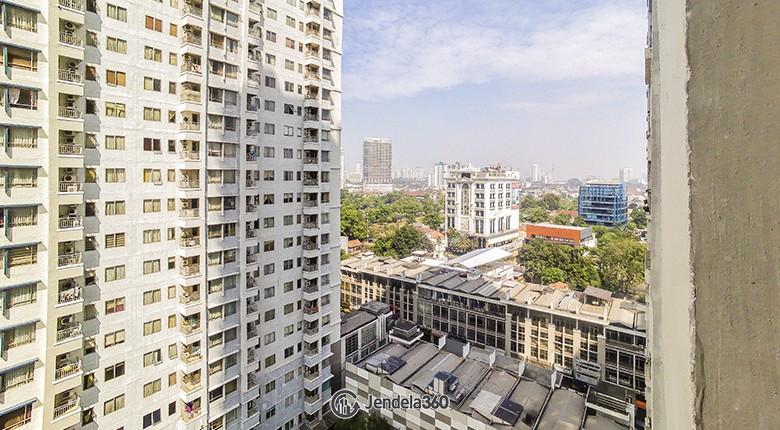 Balcony Sudirman Park Apartment Apartment
