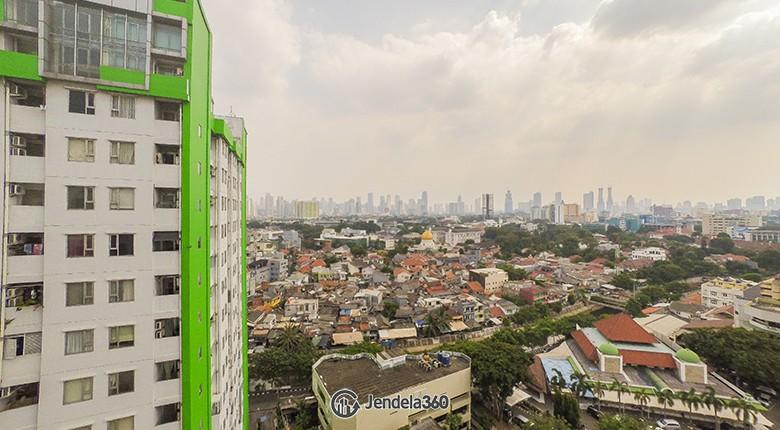 Balcony Menteng Square Apartment
