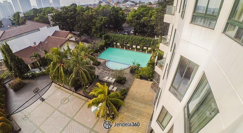 Balcony Apartemen Permata Gandaria Apartment