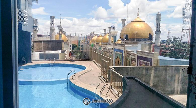 Balcony Apartemen Saladdin Mansion
