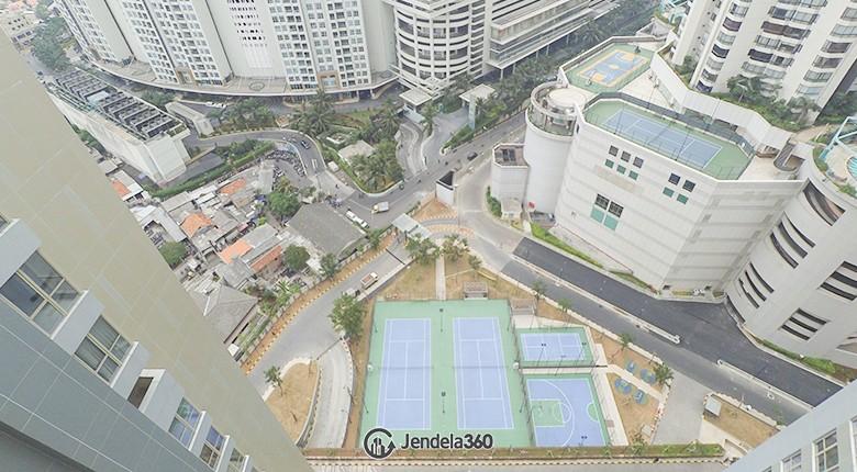Balcony Taman Anggrek Residence Apartment