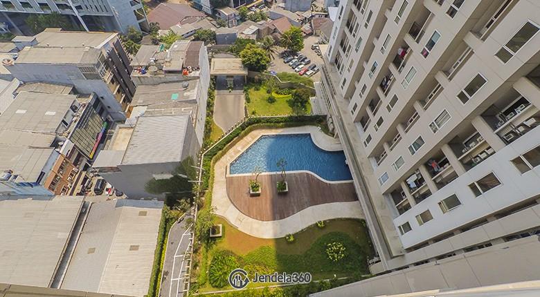 Balcony Apartemen Elpis Residences Apartment