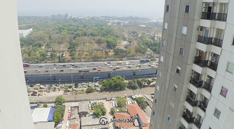 Balcony Northland Ancol Residence Apartment