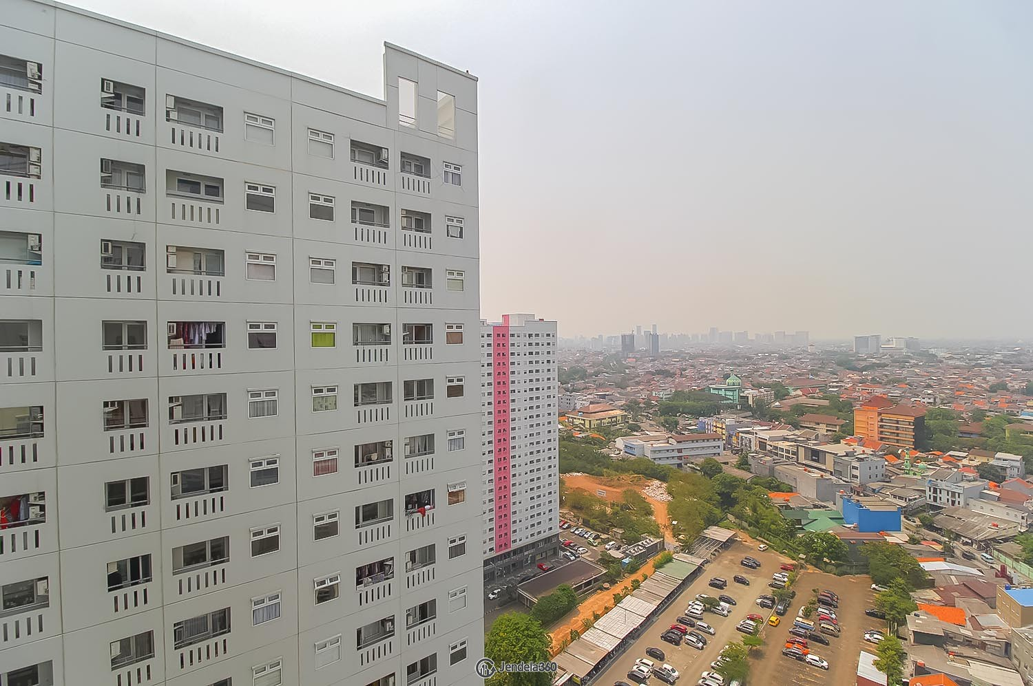 Balcony Green Pramuka City Apartment Apartment