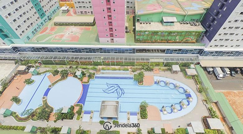 Balcony Green Pramuka City Apartment