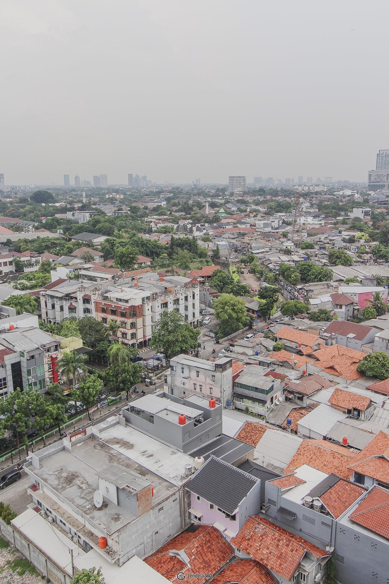 Balcony Apartemen Nine Residence