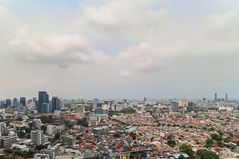 Balcony Menteng Park Apartment