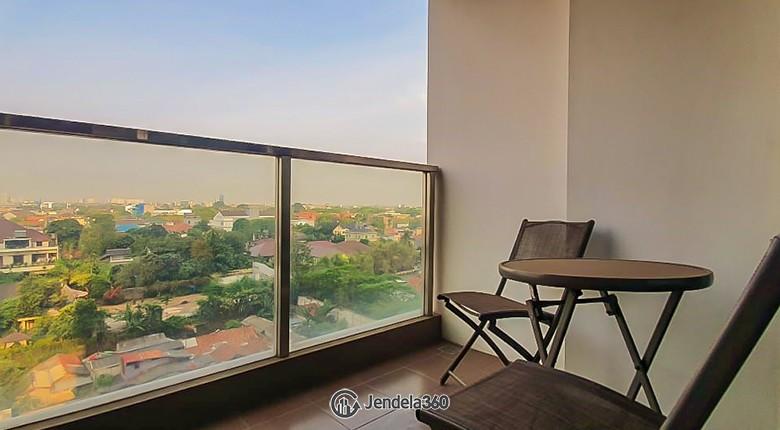 Balcony Kemang Village Apartment