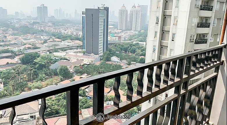 Balcony Permata Hijau Residence Apartment