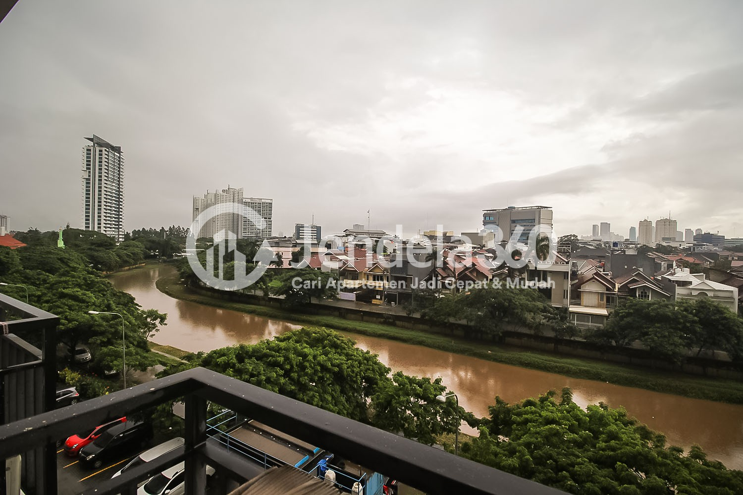 Balcony Apartemen Puri Park View Apartment