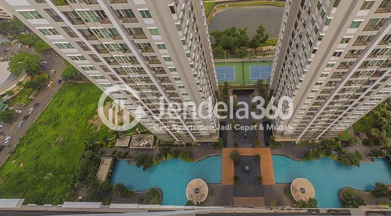 Balcony Apartemen Thamrin Residence Apartment