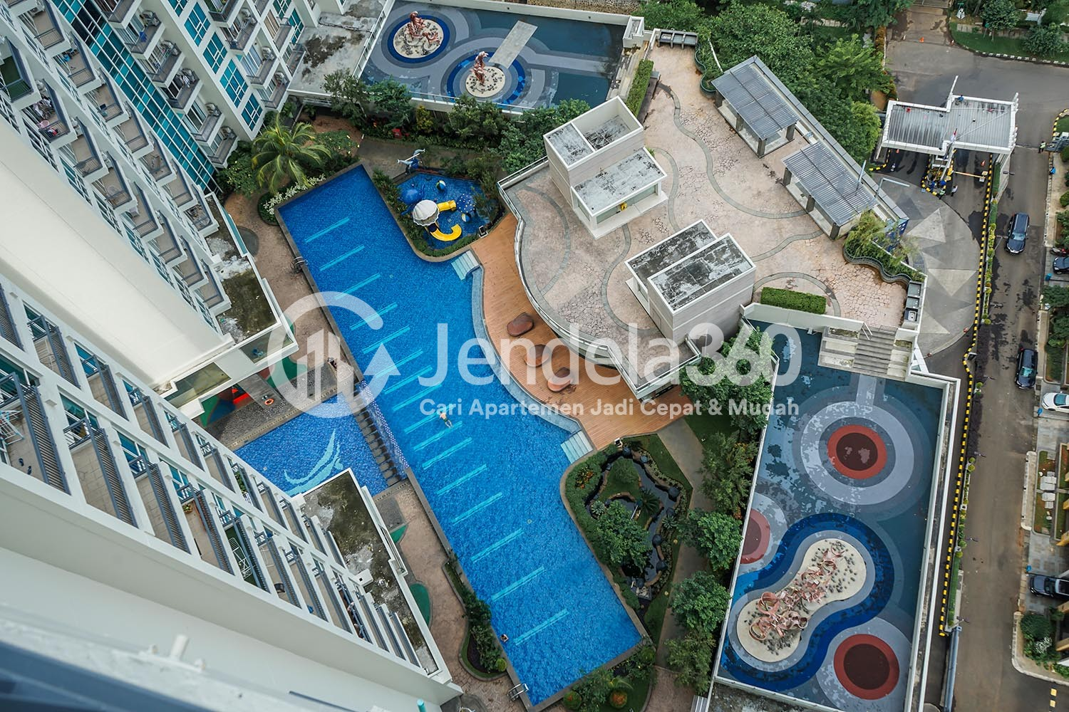 Balcony Ancol Mansion Apartment Apartment