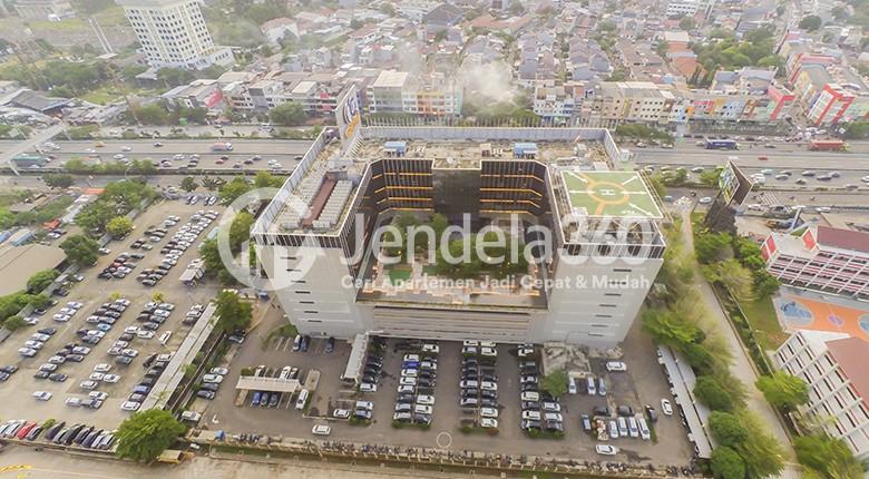 Balcony Puri Orchard Apartment Apartment