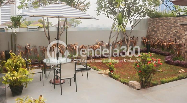 Balcony Sudirman Residence Apartment