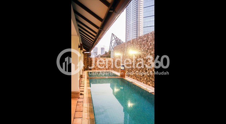 Balcony Apartemen Sudirman Residence
