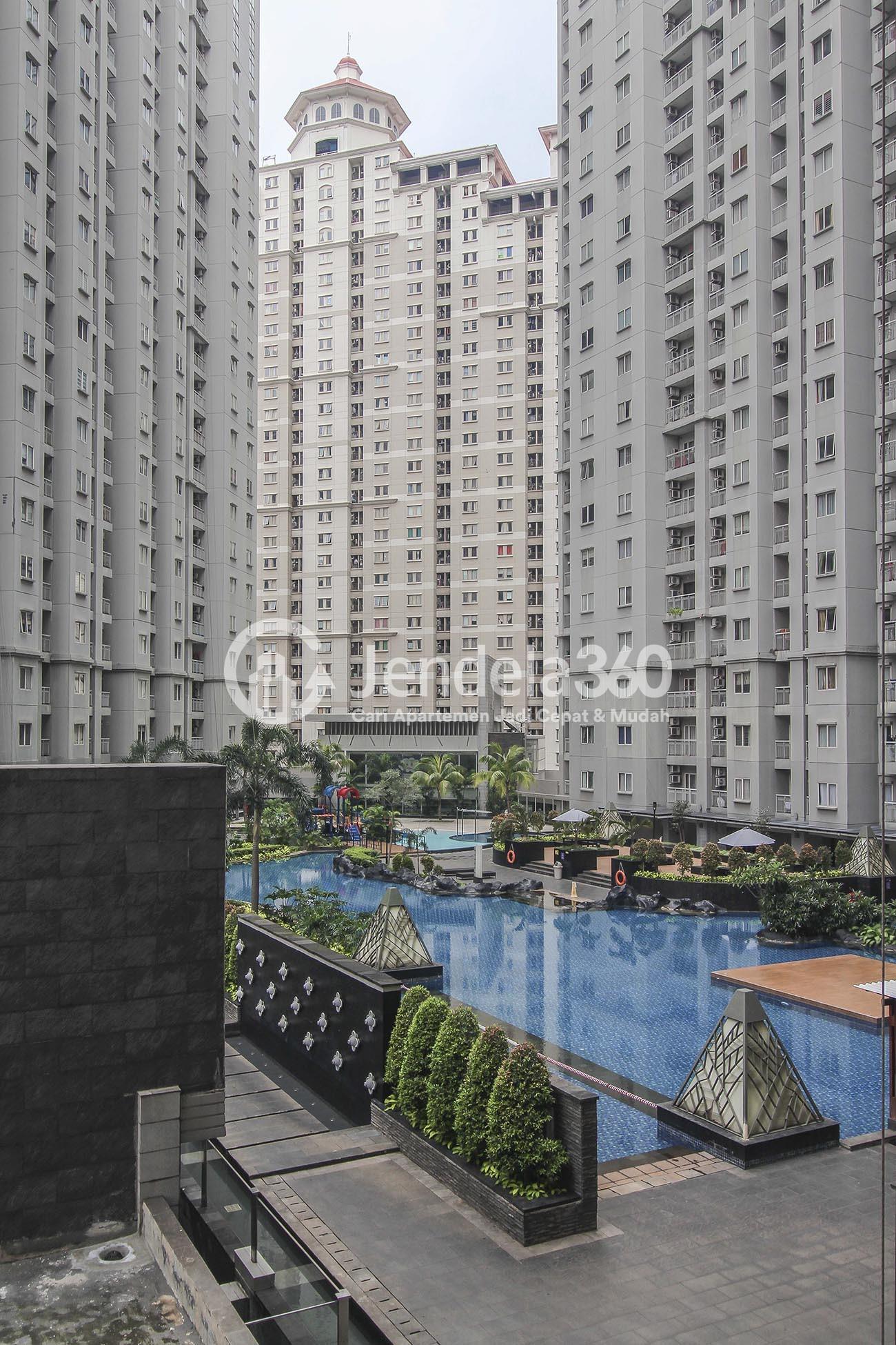Balcony Royal Mediterania Garden Residence Apartment