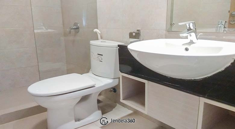Bathroom Apartemen The Mansion Kemayoran Bougenville