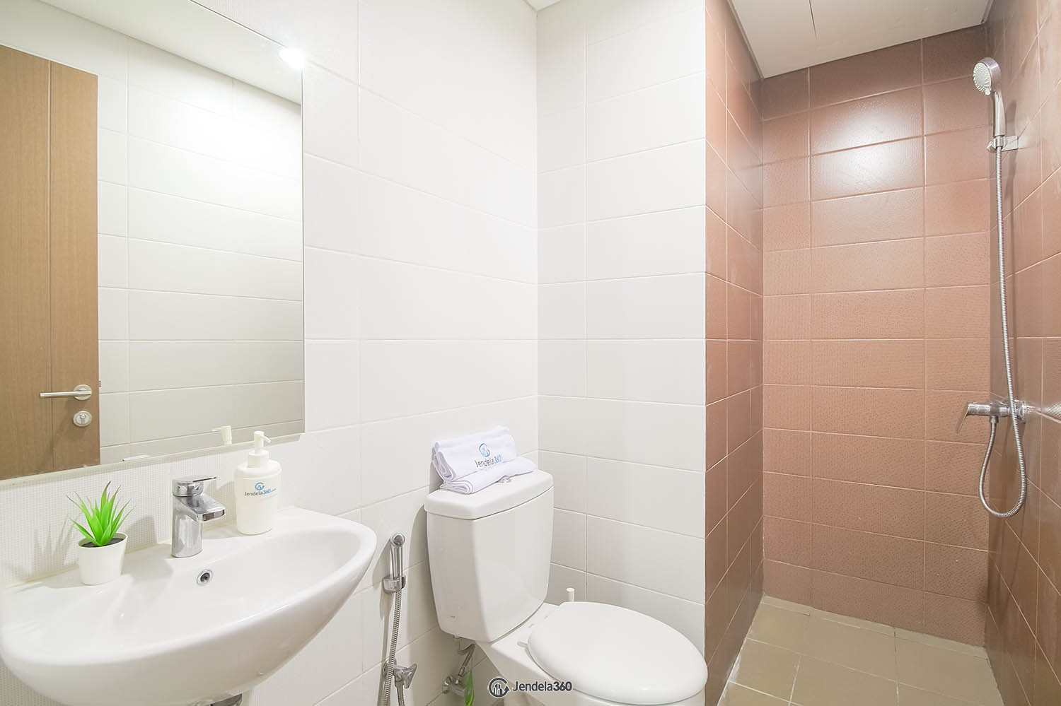 Bathroom Puri Orchard Apartment Apartment