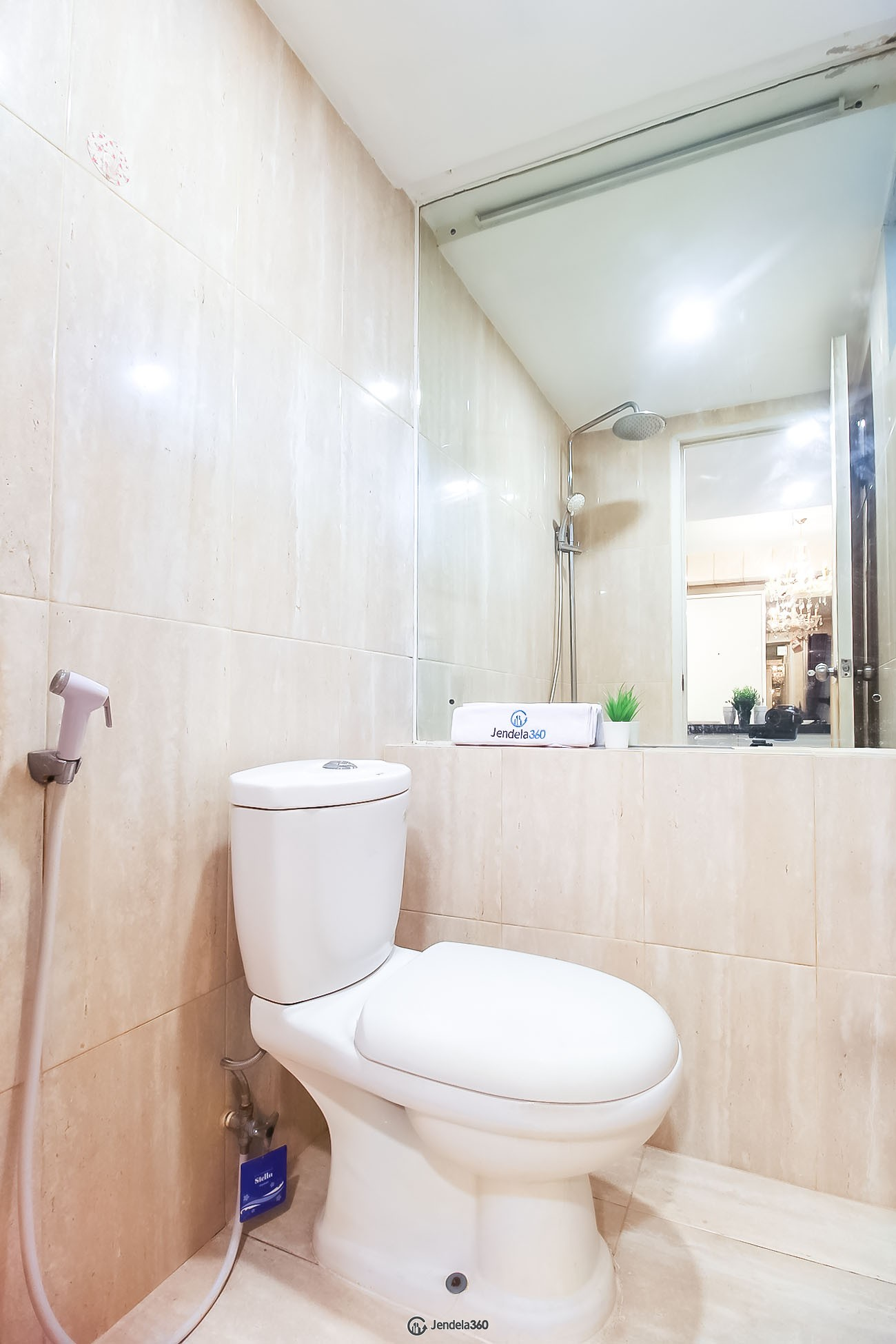 Bathroom Kalibata City Apartment Apartment