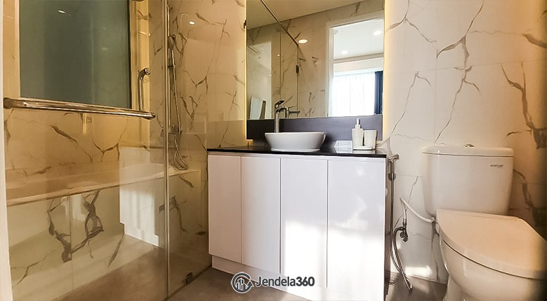 Bathroom Kemang Village Apartment Apartment