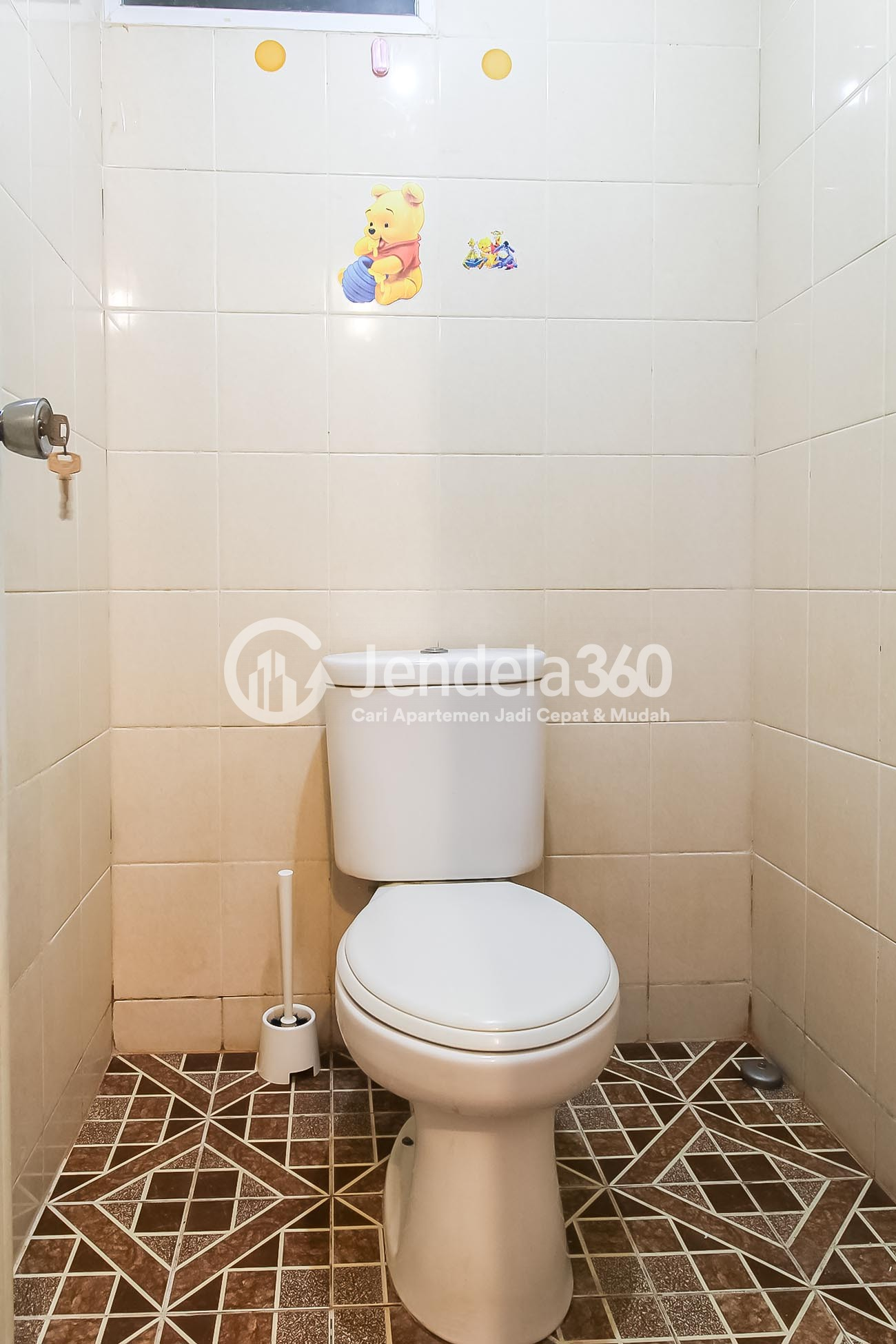 Bathroom Puri Park View Apartment Apartment