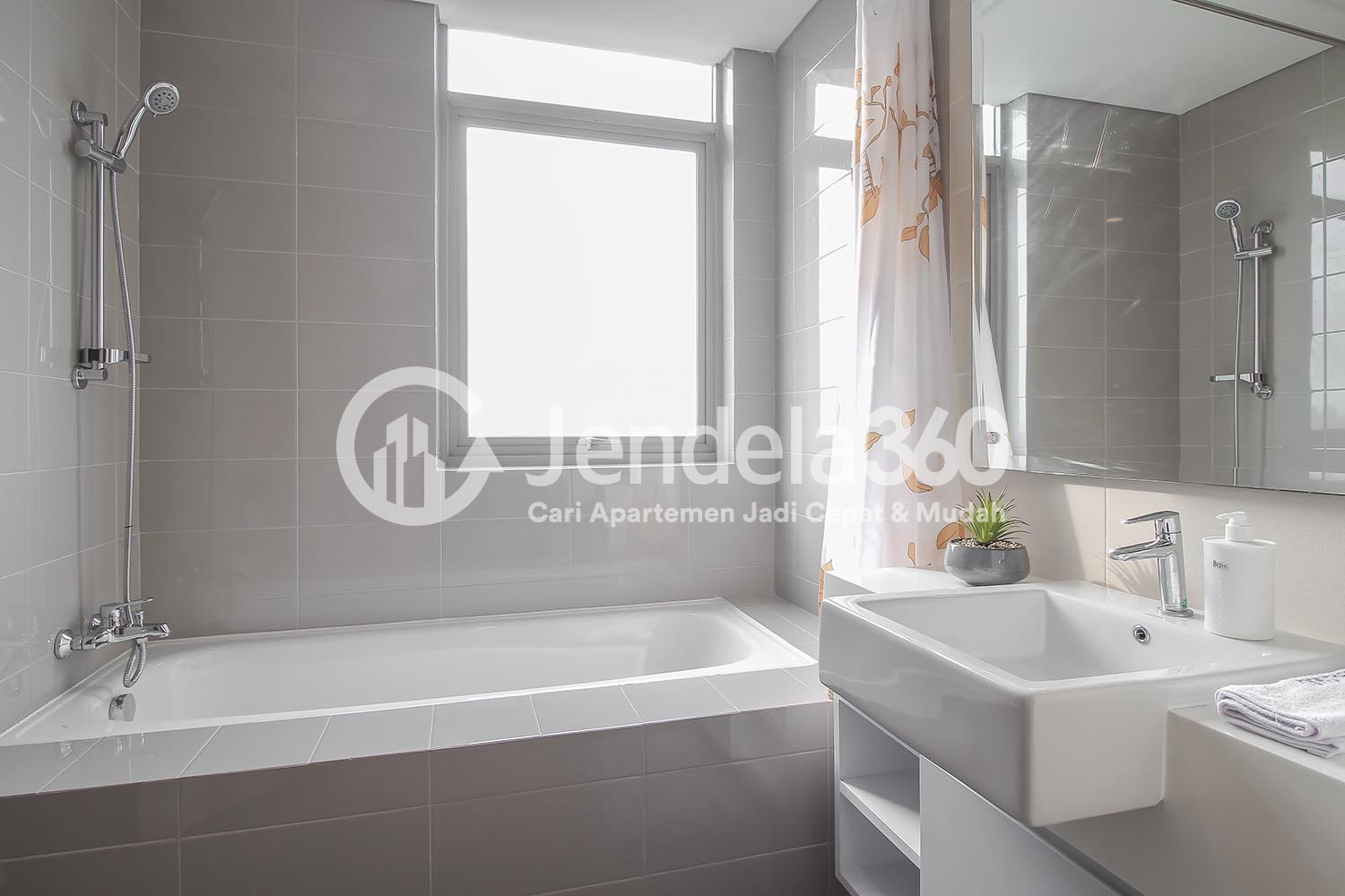 Bathroom Pejaten Park Residence Apartment