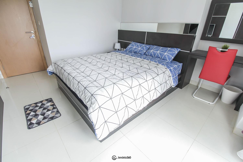 bedroom 1 The Mansion Kemayoran Jasmine Apartment