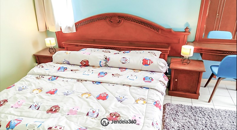 bedroom 1 Apartemen Taman Rasuna Apartment