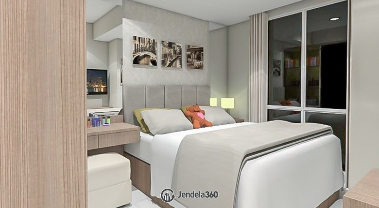 Bedroom 1 The Mansion Kemayoran Bougenville Apartment