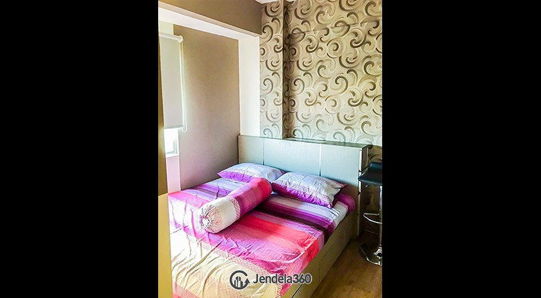 Bedroom 1 Green Pramuka City Apartment Apartment