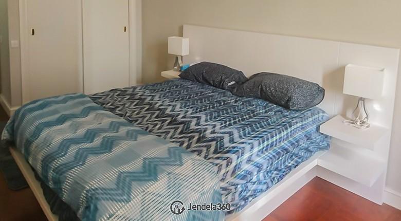 Bedroom 1 Apartemen Menteng Executive Apartment
