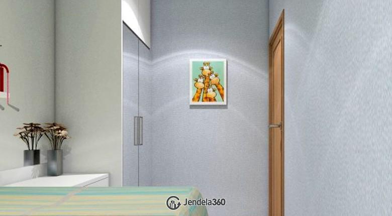 Bedroom 2 The Mansion Kemayoran Bougenville Apartment