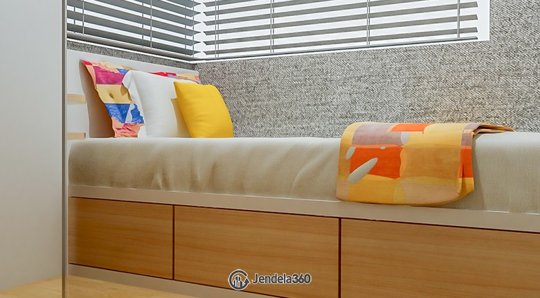 Bedroom 2 Taman Anggrek Residence Apartment