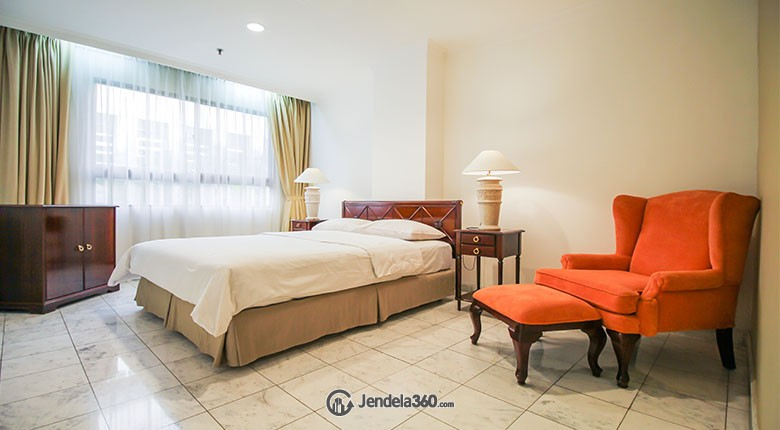 Bedroom Menteng Regency Apartment