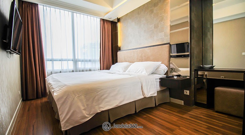 Bedroom Apartemen Kuningan City-Denpasar Residence