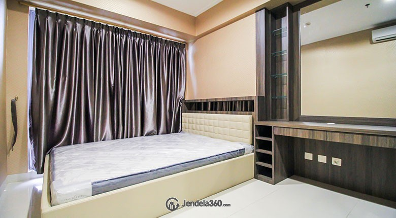 Bedroom The Mansion Bougenville Kemayoran Apartment