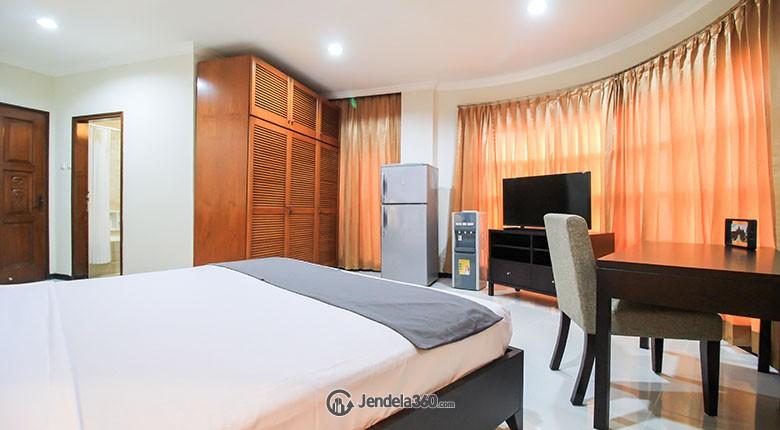 Bedroom Apartemen Pakubuwono Mansion