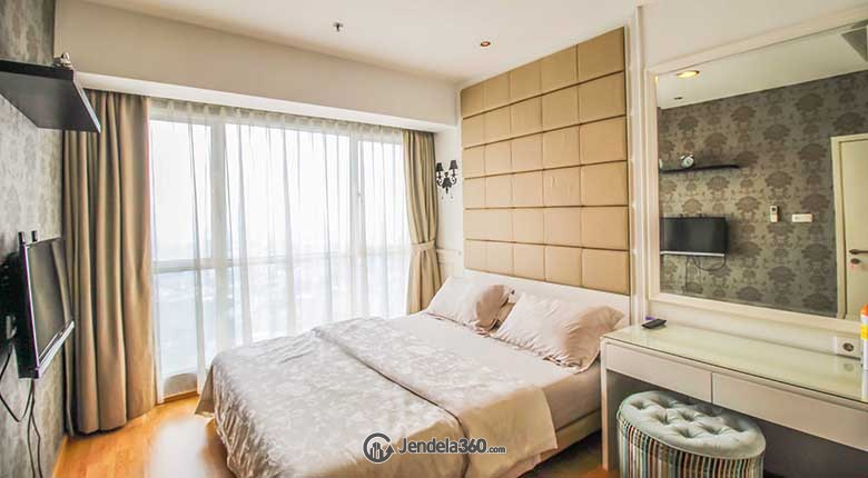 Bedroom Apartemen Gandaria Heights Apartment