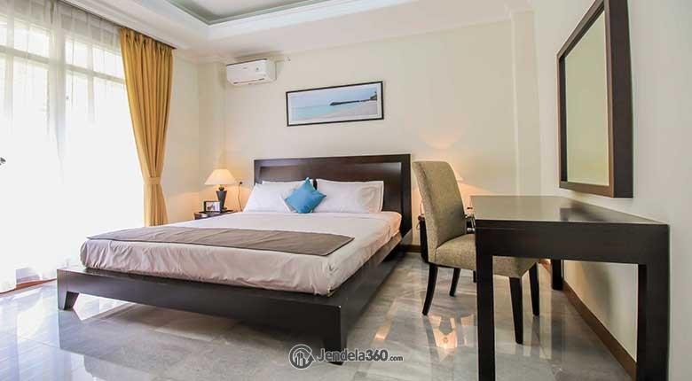 Bedroom Apartemen Purnawarman Executive Mansion